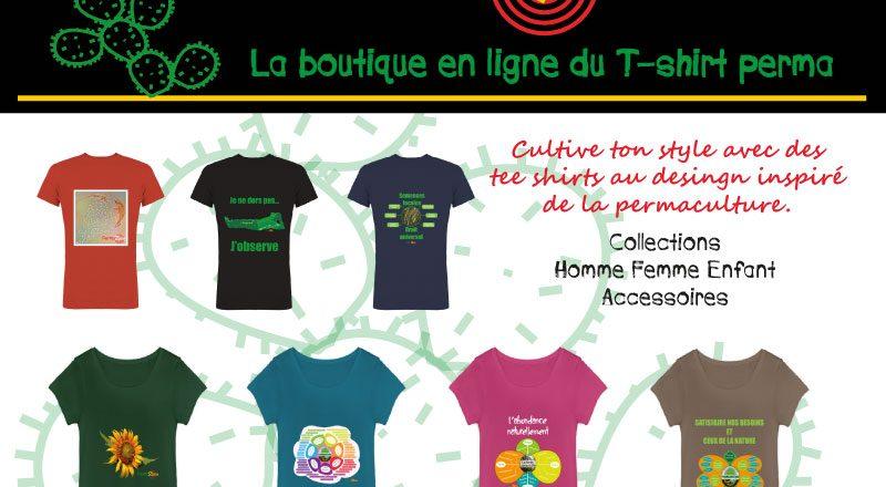 Permazone La boutique du T-shirt perma