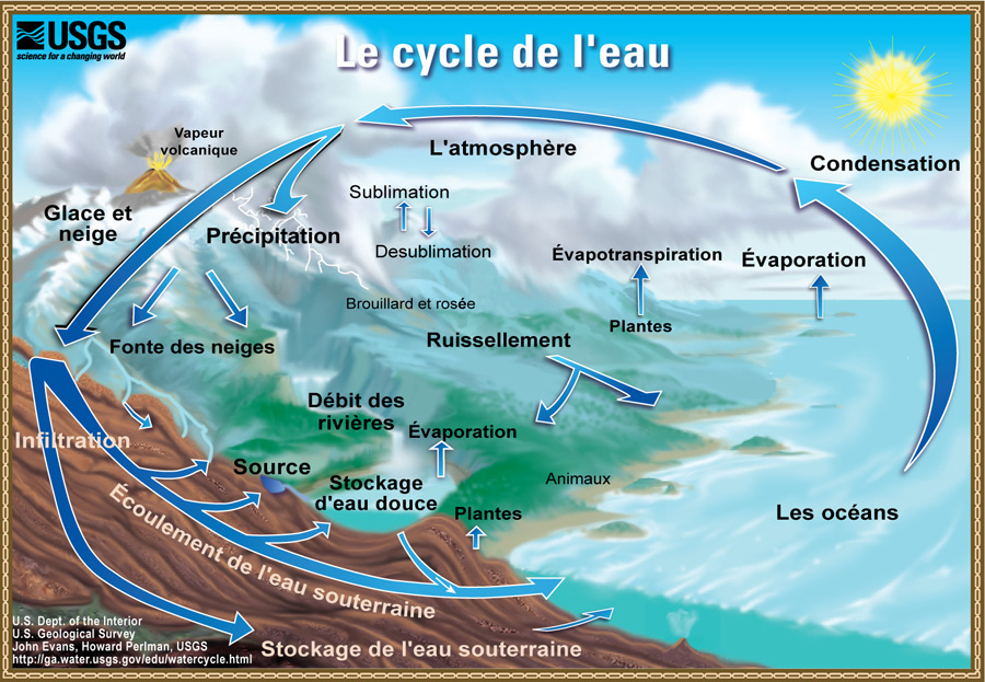 Cycle de l'eau permaculture
