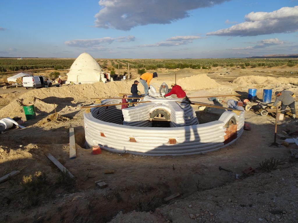 dome superadobe tunisie