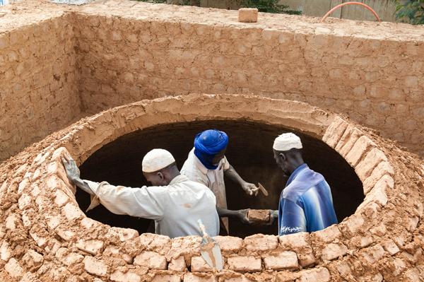 Construction coupole en brique Tunisie
