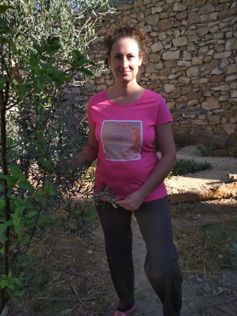 T-shirt Permazone Inspire Rosée